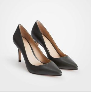 Ann Taylor leather heels
